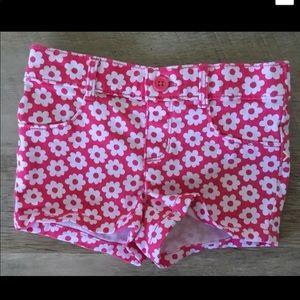 Gymboree Girls 2T Cotton/Spandex Shorts